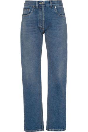 Prada Women Jeans - Cropped denim jeans