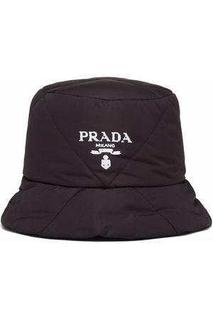 Prada Men Hats - Padded re-nylon bucket hat