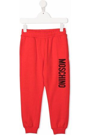 Moschino Kids Logo-print track pants