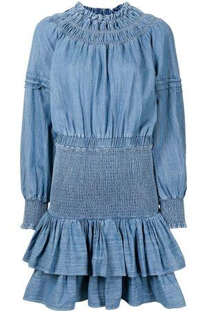 Michael Michael Kors Chambray smocked dress