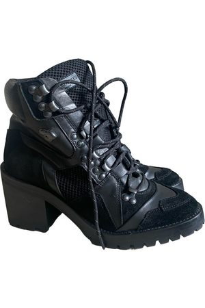The Kooples Leather lace up boots