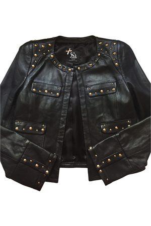 Sinéquanone Leather biker jacket