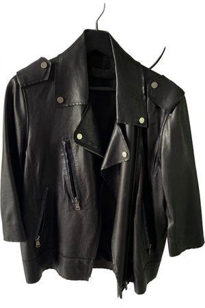Enes Leather biker jacket