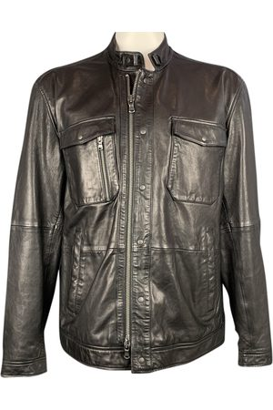 John Varvatos Leather vest