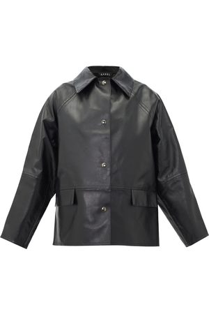 Kassl Editions Leather biker jacket