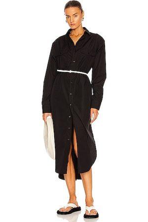 WARDROBE.NYC Shirt Midi Dress in