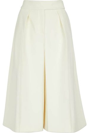 Alexandre Vauthier High-rise wool culottes