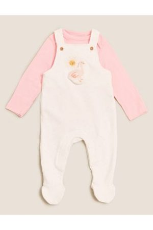 2pc Cotton Dungaree Outfit (7lbs