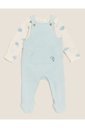 2pc Cotton Dungarees Outfit (7lbs