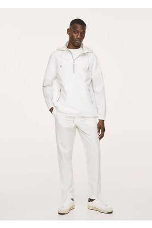 MANGO Cotton jacket with zippers