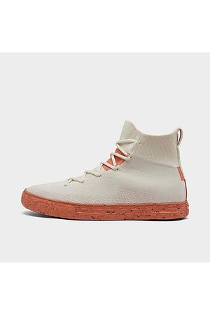 Converse Chuck Taylor All Star Crater Knit Casual Shoes in Off-White/Egret Size 8.0 Nylon/Polyester/Knit