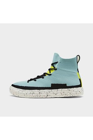 Converse Chuck Taylor All Star Crater Knit Casual Shoes in Blue/Soft Aloe Size 8.0 Nylon/Polyester/Knit