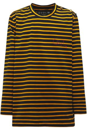 COOL Cotton Oversize Striped Sailor Top