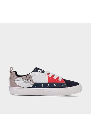 Tommy Hilfiger Little Kids' X Space Jam Bugs Bunny™ Casual Shoes in /Navy Size 1.0 Cotton/Polyester