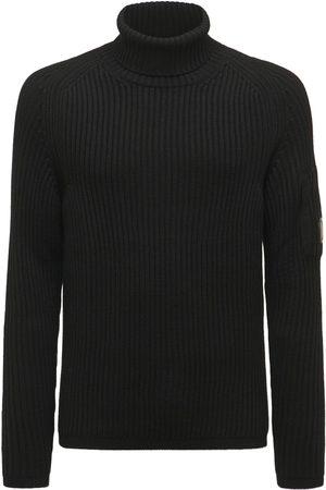 C.P. Company Wool Knit Turtleneck Sweater