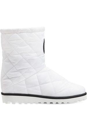 Dolce & Gabbana Logo Nylon Ski Boots