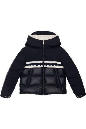 Moncler Boys Jackets - Hanim Hooded Nylon Down Jacket