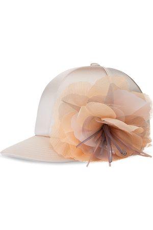 Le Mont St Michel Women Caps - Hailey silk cap - Neutrals