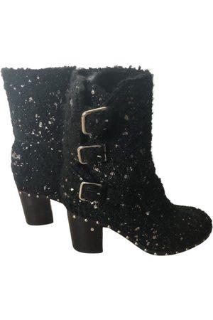 LAURENCE DACADE Tweed buckled boots
