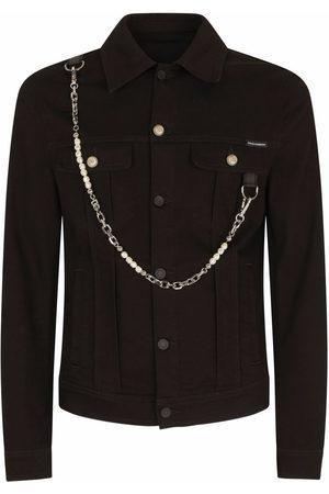 Dolce & Gabbana Chain-link detail denim jacket