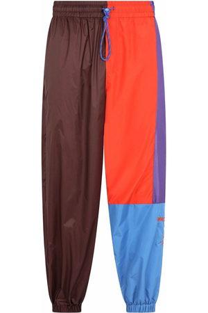Dolce & Gabbana Men Sweatpants - Panelled drawstring track pants
