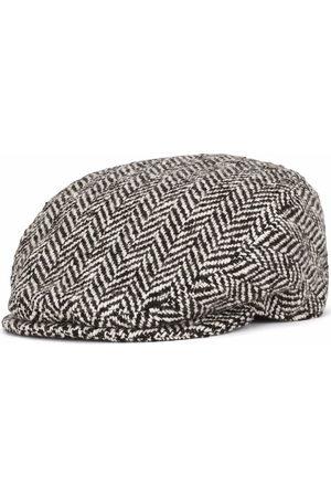 Dolce & Gabbana Virgin wool-blend flat cap