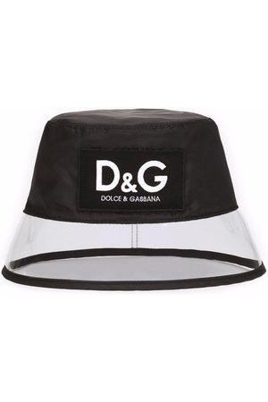 Dolce & Gabbana Transparent-panel bucket hat