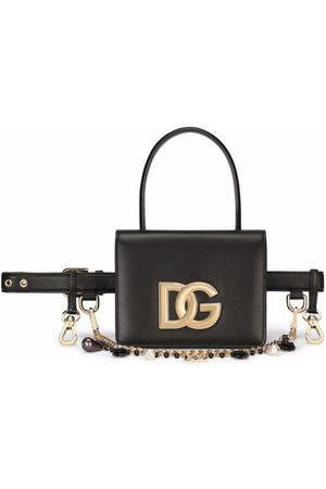 Dolce & Gabbana Calf leather belt bag