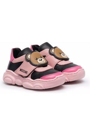 Moschino Kids Teddy Bear motif sneakers