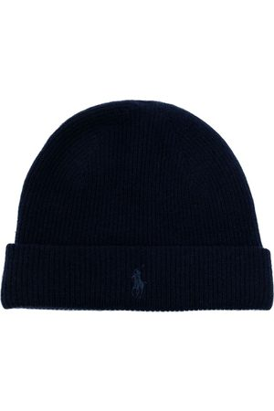 Polo Ralph Lauren Polo logo-embroidered ribbed beanie hat