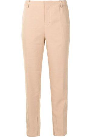 PortsPURE Mid-rise straight-leg trousers