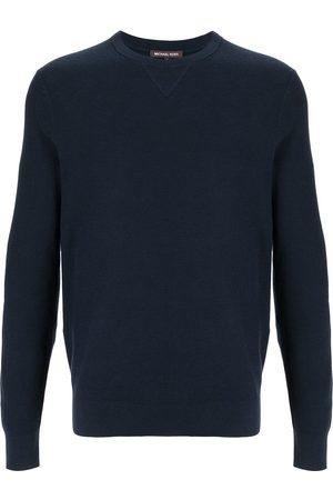 Michael Kors Elbow-patch crew neck sweatshirt