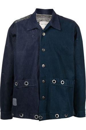 GREG LAUREN Men Long sleeves - Long-sleeve lightweight shirt jacket