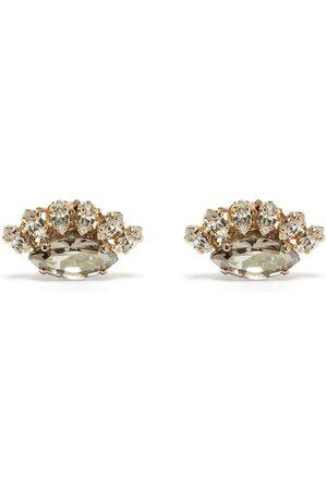 Anton Heunis Women Earrings - Crystal cluster earrings