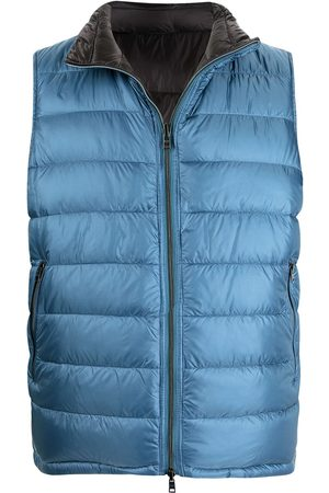 HERNO Men Puffer Jackets - Reversible padded gilet