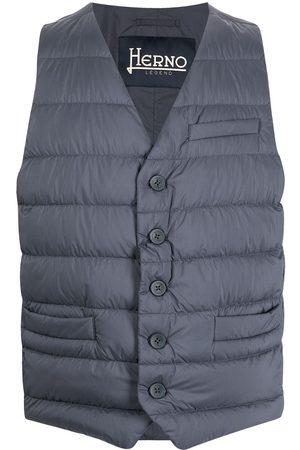 HERNO Men Waistcoats - Padded down waistcoat