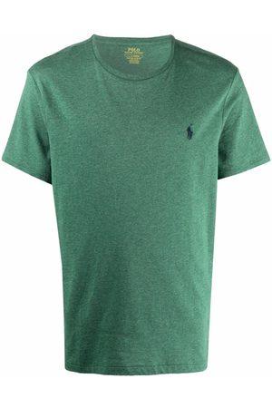 Polo Ralph Lauren Embroidered-logo short-sleeved T-shirt
