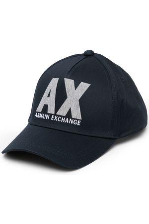 Armani Exchange Logo-print baseball cap