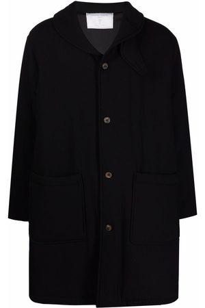 Société Anonyme Shawl-lapels single-breasted coat