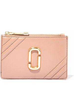 Marc Jacobs The Glam Shot leather wallet - Neutrals