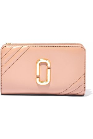 Marc Jacobs The Glam Shot leather purse - Neutrals