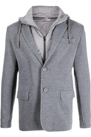 Herno Knitted blazer jacket - Grey