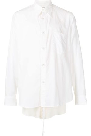 Bed J.W. Ford Layered-detail cotton shirt