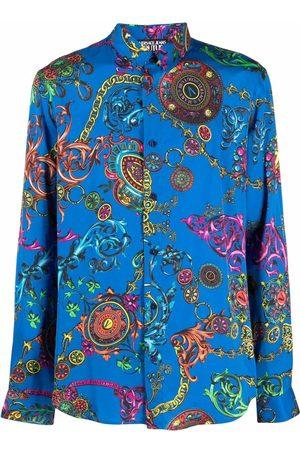 VERSACE Regalia Baroque-print long-sleeve shirt