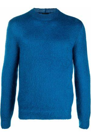 Armani Long-sleeved mohair-blend jumper
