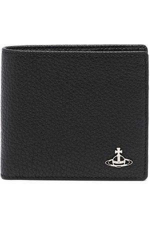 Vivienne Westwood Wallets - Orb-plaque leather wallet