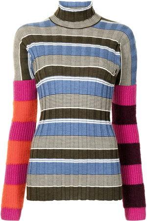 Colville Striped colour-block jumper