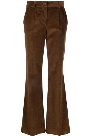 P.a.r.o.s.h. Straight-leg corduroy trousers