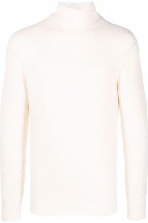 Roberto Collina Roll neck fine knit jumper - Neutrals