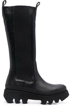 Paloma Barceló Chunky-sole tall Chelsea boots